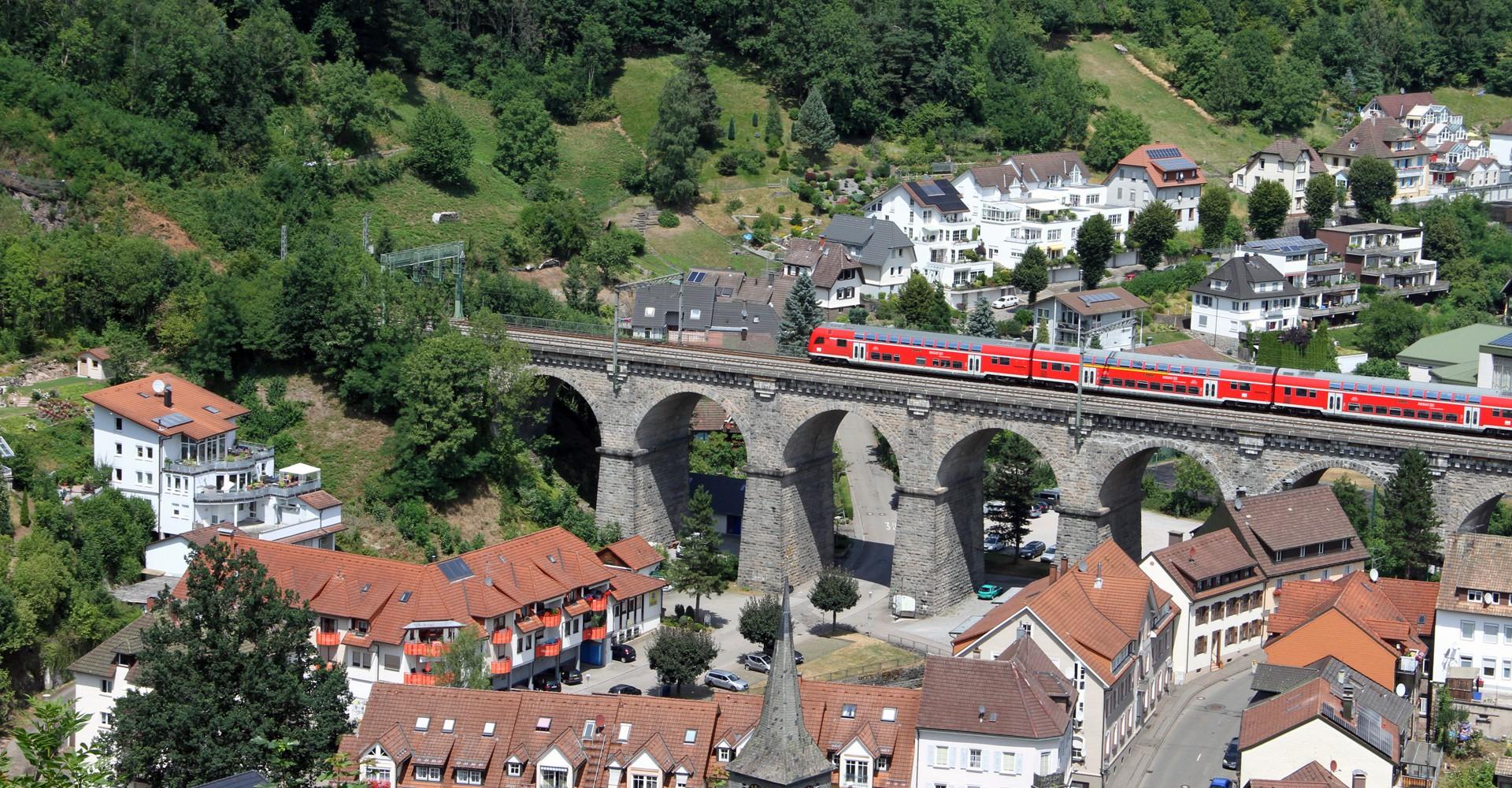 Eisenbahnviadukt Hornberg