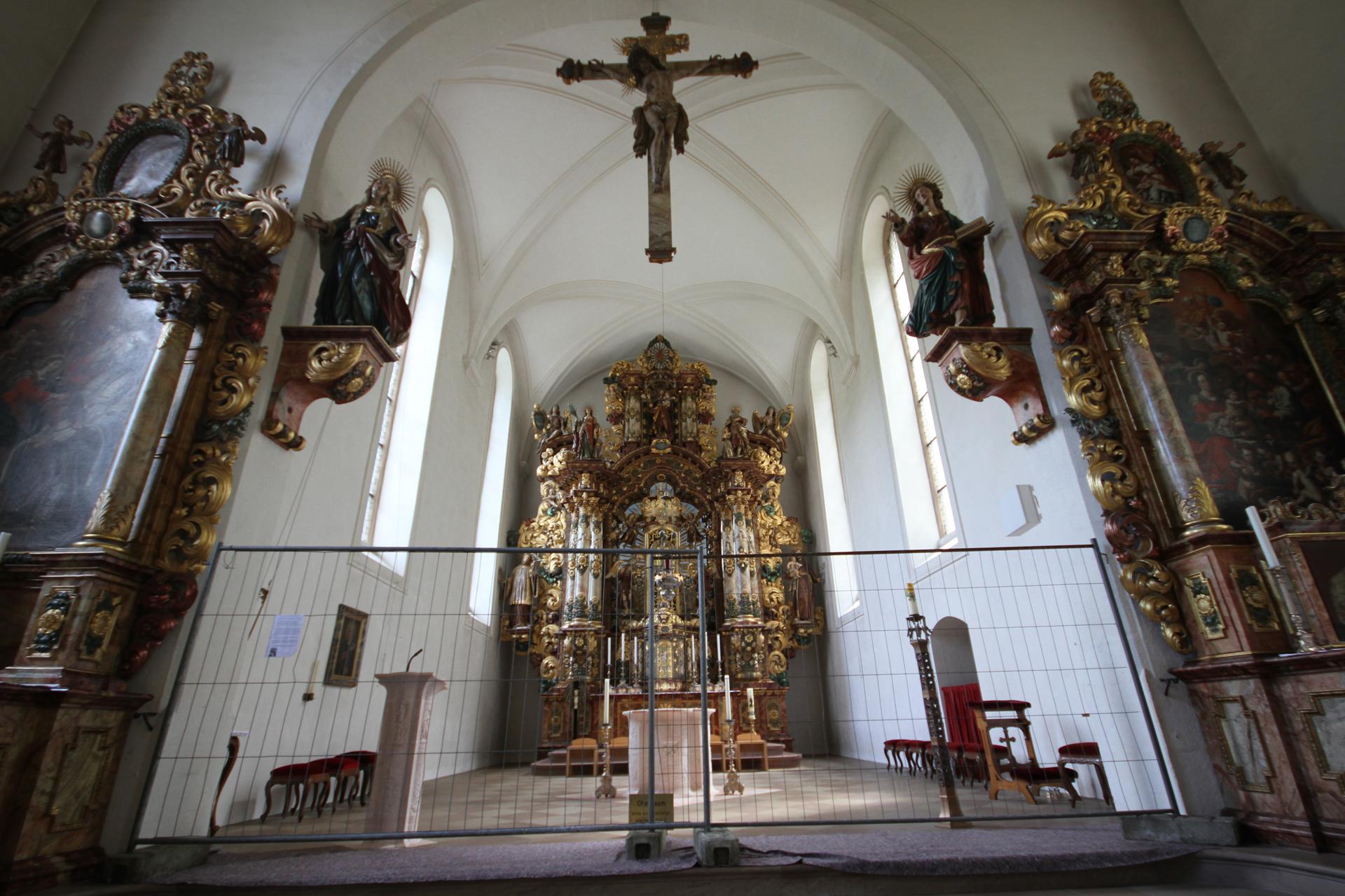 """Wallfahrtkirche """"Maria in der Tanne"""" - Altarraum"""