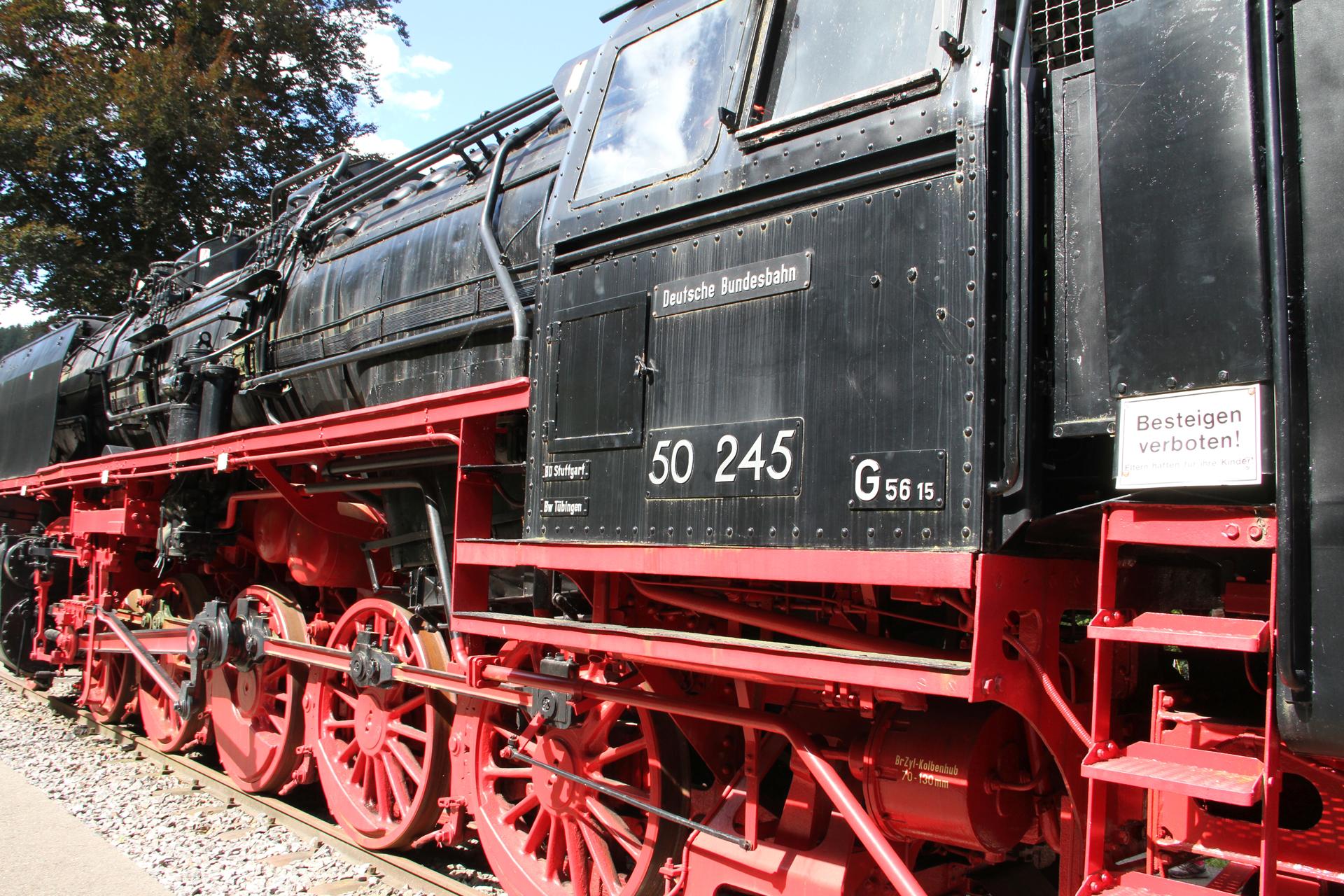 Dampflokomotive 50 245