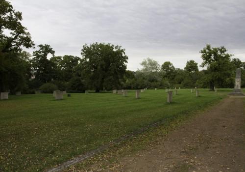 Sowjetischer Friedhof im Schloßpark Belvedere