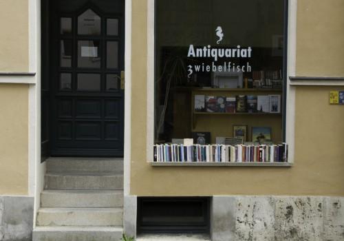 Weimar, Das derzeit einzige noch verbliebene Antiquariat: Antiquariat Zwiebelfisch